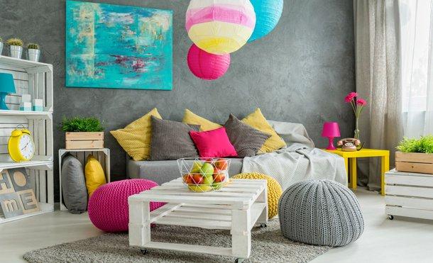 Jak Dobrać Kolory ścian Do Wnętrz I Jak Je Ze Sobą łączyć