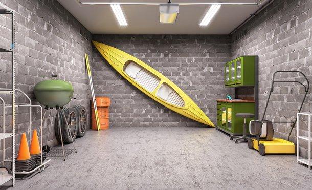 Poważne Garaż z płyt betonowych – jak zbudować? Jak zrobić dach JU62